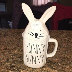 Rae Dunn Spring White Hunny Bunny Mug